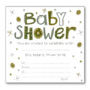 Luxury Baby Shower Invitations - Pack of 10